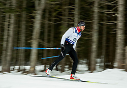 Saso Taljat of Slovenian Kayak Canoe National Team at Winter training of Cross country and Biathlon, on January 7, 2015 in Rudno polje, Pokljuka, Slovenia.  Photo by Vid Ponikvar / Sportida