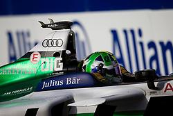 April 14, 2018 - Rome, RM, Italy - Lucas Di Grassi of Audi Sport Racing during Rome E-Prix Round 7 as part of the ABB FIA Formula E Championship on April 14, 2018 in Rome, Italy. (Credit Image: © Danilo Di Giovanni/NurPhoto via ZUMA Press)