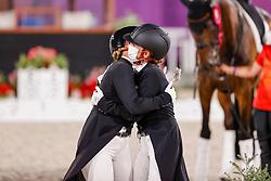 Werth Isabell, GER, Von Bredow-Werndl Jessica, GER<br /> Olympic Games Tokyo 2021<br /> © Hippo Foto - Stefan Lafrentz<br /> 28/07/2021