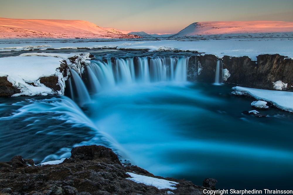"Godafoss ""Waterfall of the Gods"""