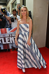 © Licensed to London News Pictures. 12/04/2017.  AMANDA HOLDEN arrives for the launch of the new series of ITV's Britain's Got Talent. London, UK. Photo credit: Ray Tang/LNP