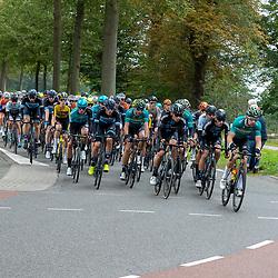 ZWOLLE (NED) CYCLING OCTOBER 16th <br /> 61e Ster van Zwolle: <br /> Peloton bij kasteel Regteren