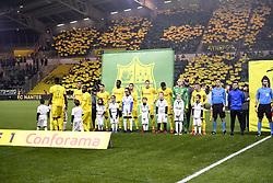 January 30, 2019 - Nantes, France - EQUIPE DE FOOTBALL DE NANTES - ENTREE DES JOUEURS (Credit Image: © Panoramic via ZUMA Press)