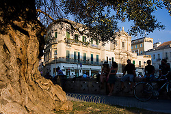 Lecce, tra l'Anfiteatro e il Sedile