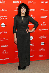 "Melanie Ehrlich at the premiere of ""The Miseducation of Cameron Post"" during the 2018 Sundance Film Festival held at the Eccles Center Theatre on January 22, 2018 in Park City, UT. © JPA / AFF-USA.COM. 22 Jan 2018 Pictured: Desiree Akhavan. Photo credit: JPA / AFF-USA.COM / MEGA TheMegaAgency.com +1 888 505 6342"