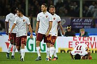 Esultanza Gol Mohamed Salah Roma Goal celebration <br /> Firenze 25-10-2015 Stadio Artemio Franchi  Football Calcio Serie A 2015/2016 Fiorentina - Roma Foto Andrea Staccioli / Insidefoto