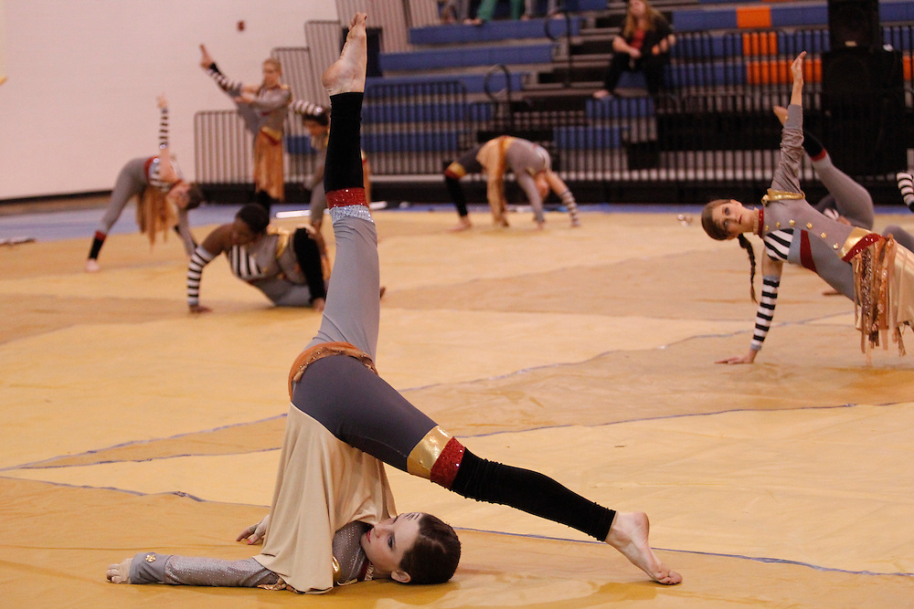 Gulfport HS Winterguard and Percussion Show.LCGPC 2012.photo by Crystal LoGiudice