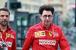 May 23, 2019 - Monte Carlo, Monaco - xa9; Photo4 / LaPresse.23/05/2019 Monte Carlo, Monaco.Sport .Grand Prix Formula One Monaco 2019.In the pic: Mattia Binotto (ITA) Scuderia Ferrari Team Principal (Credit Image: © Photo4/Lapresse via ZUMA Press)