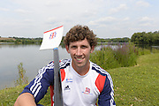 Caversham, Great Britain, Matthew TARRANT.  GB Rowing media day at the Redgrave Pinsent Rowing Lake. GB Rowing Training centre.  Thursday  08/08/2013 [Mandatory Credit. Peter Spurrier/Intersport Images]