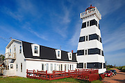 Lighthouse <br /> West Cape<br /> Prince Edward Island <br /> Canada