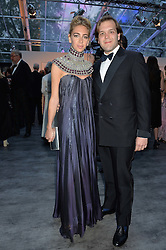 JOSEPH & SABINE GETTY at British Vogue's Centenary Gala Dinner in Kensington Gardens, London on 23rd May 2016.