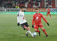 Fotball , 8. november 2019 , Eliteserien , Brann - Odd<br /> Ruben Yttergård Jenssen , Brann <br /> Fredrik Oldrup Jensen , Odd