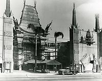 1950 Painting Grauman's Chinese Theatre