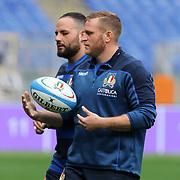 20181123 Rugby, test match : captain's run Italia