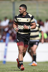 Adriaan Carelse of Boland during the Currie Cup premier division match between the Boland Cavaliers and The Blue Bulls held at Boland Stadium, Wellington, South Africa on the 23rd September 2016<br /> <br /> Photo by:   Shaun Roy/ Real Time Images