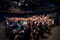Bialystok, 14.02.2019. Podczas wizyty w Polsce Przewodniczacy Rady Republiki Zgromadzenia Narodowego Bialorusi Michail Miasnikowicz spotkal sie w Bialymstoku z przedstawicielami mniejszosci bialoruskiej N/z na spotkanie przybyli licznie przedstawiciele mniejszosci bialoruskiej fot Michal Kosc / AGENCJA WSCHOD