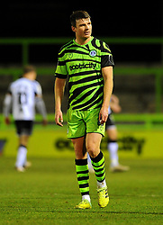 Chris Stokes of Forest Green Rovers after the final whistle - Mandatory by-line: Nizaam Jones/JMP - 16/01/2021 - FOOTBALL - innocent New Lawn Stadium - Nailsworth, England - Forest Green Rovers v Port Vale - Sky Bet League Two