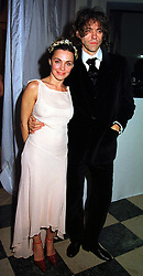 MISS JEANNE MARINE and SIR BOB GELDOF, at a party in London on 8th November 1999.MYT 52
