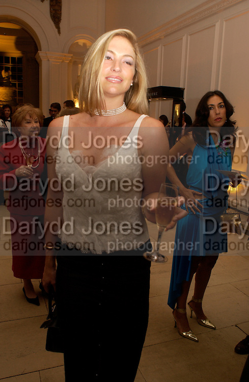 Baroness Erika von Schubert, British Luxury Club, Celebration, the Orangery, Kensington Palace. 16 September 2004. SUPPLIED FOR ONE-TIME USE ONLY-DO NOT ARCHIVE. © Copyright Photograph by Dafydd Jones 66 Stockwell Park Rd. London SW9 0DA Tel 020 7733 0108 www.dafjones.com