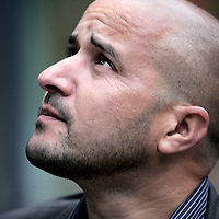 Nederland,Amsterdam ,2 september 2007..Ahmed Marcouch (Beni-Boughafer (Marokko), 1969) is een Nederlands politicus van Marokkaanse afkomst. Hij wasstadsdeelvoorzitter van het Amsterdamse stadsdeel Slotervaart en lid van de Partij van de Arbeid. Hij is in 2010 verkozen tot lid van de Tweede Kamer..Foto:Jean-Pierre Jans