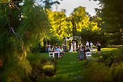 A small wedding ceremony held at Bell Gate Farm in Coopersburg, Pennsylvania.