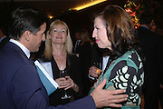 Lord Coe, Debbie Moore AND AMANDA PLATELL. 'Dirty politics, Dirty times: My fight with Wapping and New Labour' by Michael Ashcroft. Book launch party in aid of Crimestoppers. Riverbank Plaza Hotel. London SE1.      October 10 2005. ONE TIME USE ONLY - DO NOT ARCHIVE © Copyright Photograph by Dafydd Jones 66 Stockwell Park Rd. London SW9 0DA Tel 020 7733 0108 www.dafjones.com