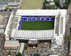 Image ©Licensed to i-Images Picture Agency. Aerial views. United Kingdom.<br /> White Hart Lane, home of Tottenham Hotspur FC. Picture by i-Images