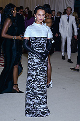 Alicia Vikander walking the red carpet at The Metropolitan Museum of Art Costume Institute Benefit celebrating the opening of Heavenly Bodies : Fashion and the Catholic Imagination held at The Metropolitan Museum of Art  in New York, NY, on May 7, 2018. (Photo by Anthony Behar/Sipa USA)