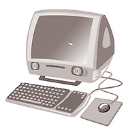 Old imac computer