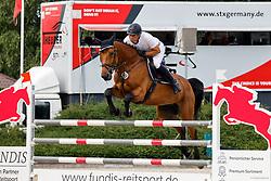 03,Springpferdeprfg. KL. M*, , Ehlersdorf, Reitanlage Jörg Naeve, 15. - 18.07.2021, Tim Markus (GER), Carbon Girl,