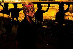 Labors work in a ship yard in Dhaka, Bangladesh.