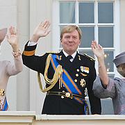 NLD/Den Haag/20100921 - Prinsjesdag 2010, Prinses Maxima, Prins Willem - Alexander, Koningin Beatrix