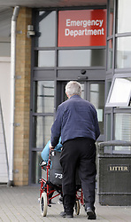 "© Licensed to London News Pictures. 04/01/2013.Darent Valley Hospital in Kent Closed yesterday morning (03.01.2013) because it was full. .The hospital had to turn patients away for several hours as part of a ""short closure"" after it reached full capacity, NHS chiefs have said..Darent Valley Hospital in Dartford, Kent, closed to new admissions for six-and-a-half hours..Ambulance crews were instructed to take emergency patients to other hospitals..NHS chiefs said the hospital remained open to children and people visiting A&E on foot and anyone in immediate need of emergency help would be seen..Photo credit : Grant Falvey/LNP"
