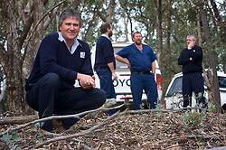 Nigel Saville, Yan Yean Water Supply, in a bushland setting