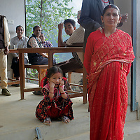 Asia, Nepal, Kathmandu, Kirtipur. Scene of daily life in Kirtipur