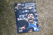 Match day programme during the EFL Sky Bet Championship match between Queens Park Rangers and Barnsley at the Kiyan Prince Foundation Stadium, London, England on 20 June 2020.