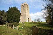 Tower and churchyard Church of St Botolph, Burgh, Suffolk