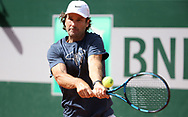 Carlos Moya of Spain, coach of Rafael Nadal of Spain during practice ahead of the French Open 2021, a Grand Slam tennis tournament at Roland-Garros stadium on May 29, 2021 in Paris, France - Photo Jean Catuffe / ProSportsImages / DPPI