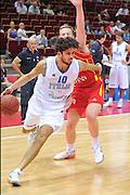 Danzica - Polonia 04 Agosto 2012 - TORNEO INTERNAZIONALE SOPOT CUP - Italia Montenegro<br /> Nella Foto : LUCA VITALI<br /> Foto Ciamillo