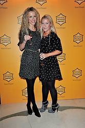 Left to right, KATE FREUD and LUCY MYNERS at the 38th Veuve Clicquot Business Woman Award held at Claridge's, Brook Street, London W1 on 28th March 2011.