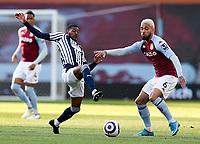 Football - 2020 / 2021 Premier League - Aston Villa vs West Bromwich Albion - Villa Park<br /> <br /> Douglas Luiz of Aston Villa and Ainsley Maitland-Niles of West Bromwich Albion