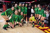 Volleyball-NCAA Women-Oregon at Southern California-Nov 24, 2019