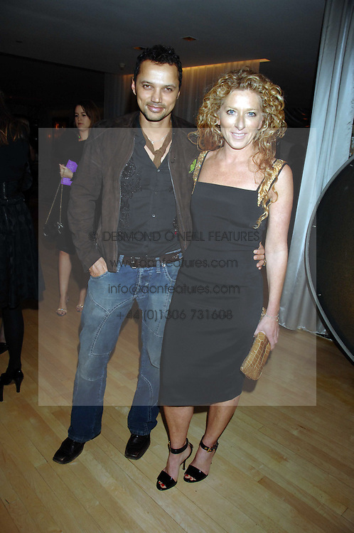 KELLY HOPPEN and GERRY DEVEAUX at an Evening at Sanderson in Aid of CLIC Sargent held at The Sanderson Hotel, 50 Berners Street, London W1 on 15th May 2007.<br /><br />NON EXCLUSIVE - WORLD RIGHTS