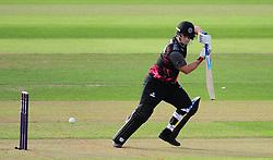 Jim Allenby of Somerset in action.  - Mandatory by-line: Alex Davidson/JMP - 22/07/2016 - CRICKET - Th SSE Swalec Stadium - Cardiff, United Kingdom - Glamorgan v Somerset - NatWest T20 Blast