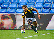 South Africa wing Edwill Van Der Merwe touches down for a try during the World Rugby U20 Championship 3rd Place play-off  match Argentina U20 -V- South Africa U20 at The AJ Bell Stadium, Salford, Greater Manchester, England on Saturday, June 25, 2016.(Steve Flynn/Image of Sport)