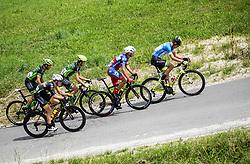 Martin Haring of Dukla Banska Bystrica, Benjamin Hill of Ljubljana Gusto Xaurum, Juraj Bellan of Dukla Banska Bystrica, Jon Bozic of Adria Mobil Cycling Team and Nik Cemazar of Slovenija National Team compete during 1st Stage of 25th Tour de Slovenie 2018 cycling race between Lendava and Murska Sobota (159 km), on June 13, 2018 in  Slovenia. Photo by Vid Ponikvar / Sportida