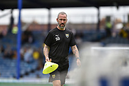 Shaun Derry of Oxford United during the EFL Sky Bet League 1 match between Portsmouth and Oxford United at Fratton Park, Portsmouth, England on 18 August 2018.
