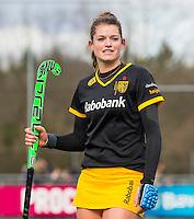 LAREN - Hockey - Hoofdklasse competitie dames . Laren-Den Bosch (1-2). Lidewij Welten (Den Bosch)    COPYRIGHT KOEN SUYK