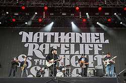 Nathaniel Rateliff & The Night Sweats play the Radio 1 stage on Sunday 10/6 at T in the Park 2016, Strathallan Castle, Perthshire.