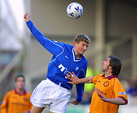 Tore Andre Flo and Greg Strong <br /><br />pic willie vass<br />18 Norse Road<br />Glasgow<br />G14 9HP<br />UK<br /><br />+44 141 563 7121